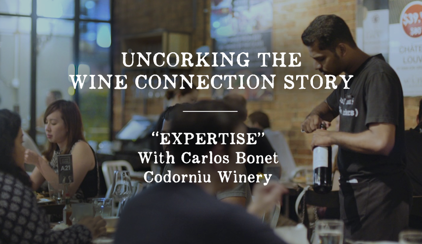"Uncorking the Wine Connection Story: ""EXPERTISE"""