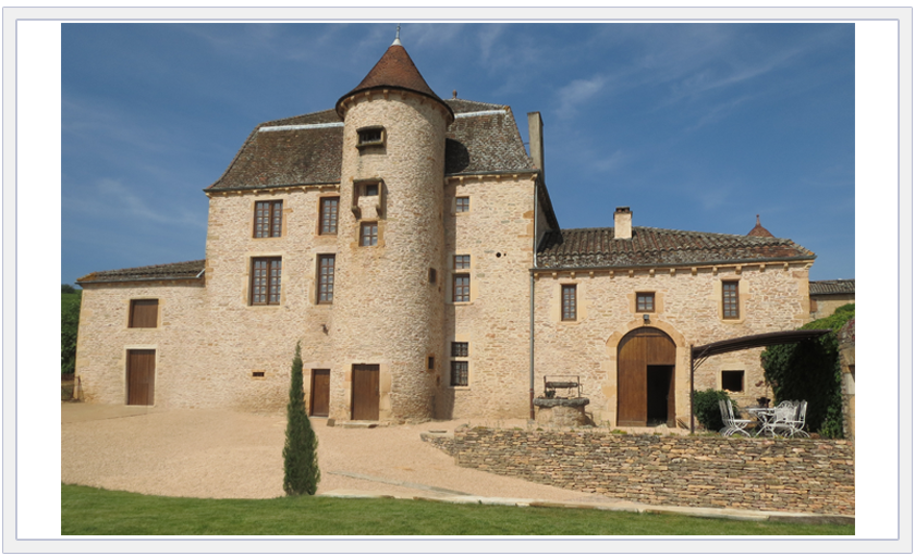 Pouilly-Fuissé AOC-region-Chateau-de-Pouilly