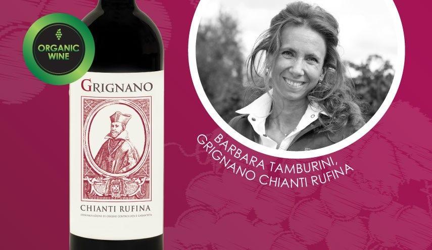 Celebrate Women In Wine | Barbara Tamburini From Grignano Chianti Rufina