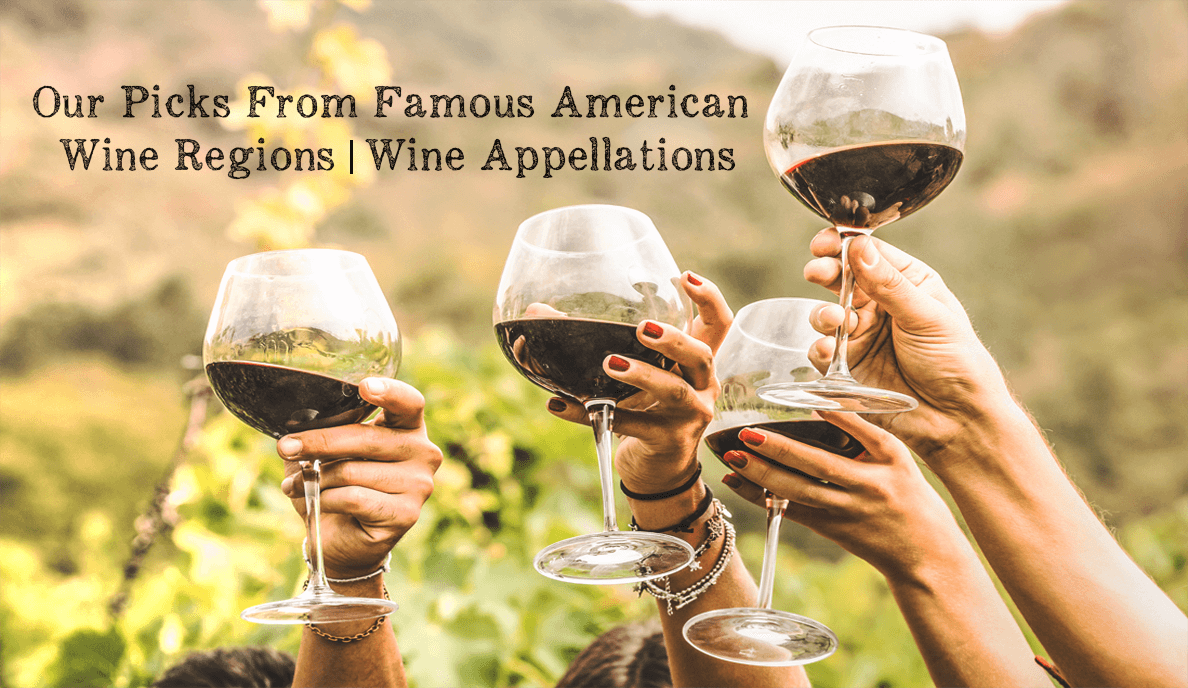 Our Picks From Famous American Wine Regions | Wine Appellations